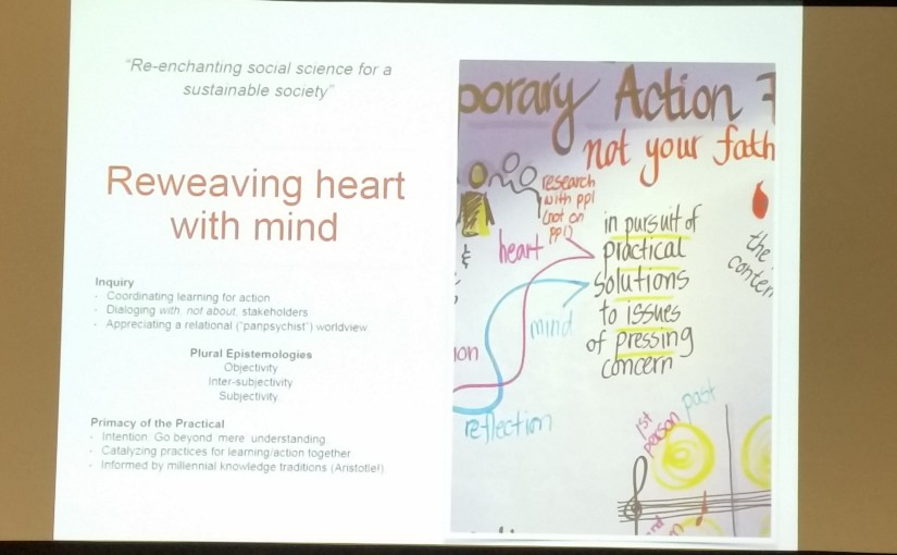 Action research, reweaving heart with mind